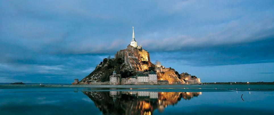 Le Mont Saint-Michel en été