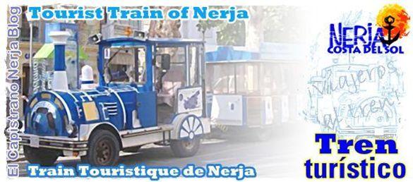 EL Capistrano les recomienda disfrutar de un paseo en el tren turístico de Nerja