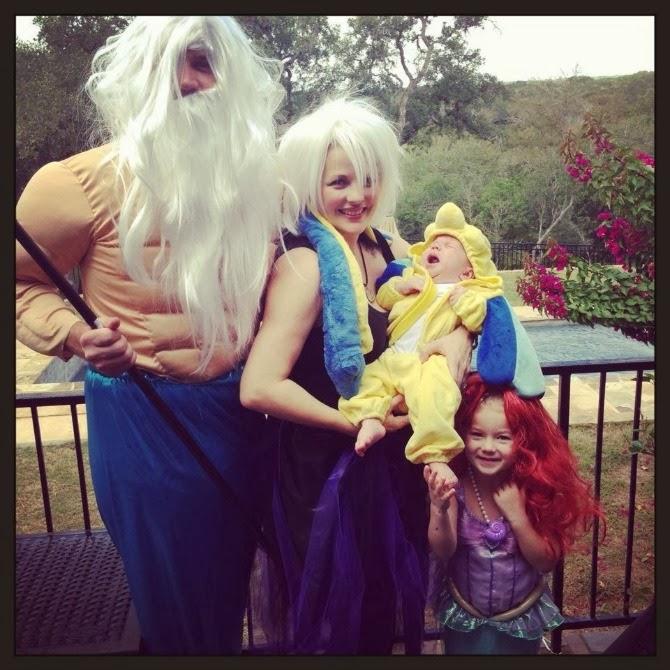 The Holland House: Little Mermaid Family