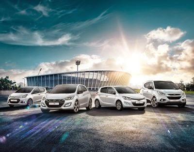 Vedetele Hyundai te conduc in Brazilia