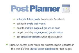 Postplanner app