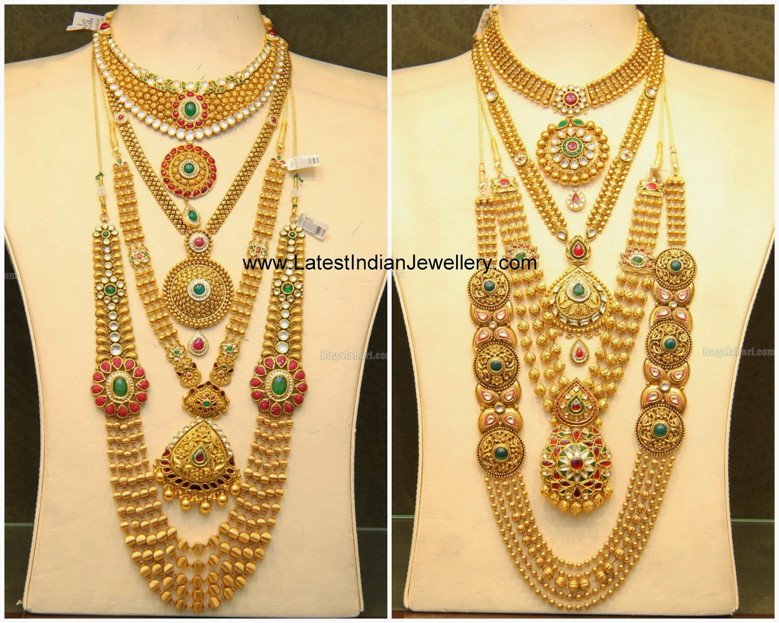 Latest Bridal Jewellery Sets Malabar