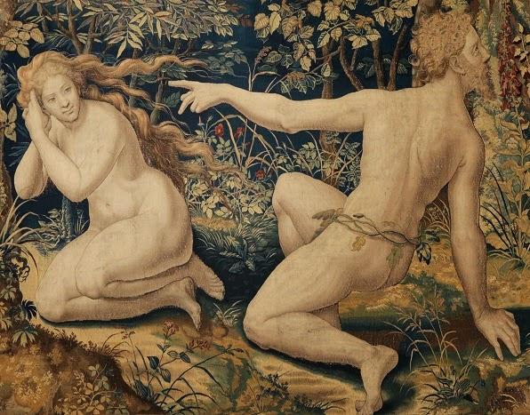 Pieter Coecke van Aelst: Adam & Eve.