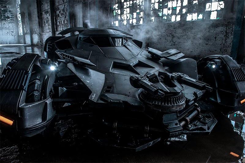 """Zack Snyder comparte una foto del Batmóvil en """"Batman V Superman: Dawn of Justice"""""""