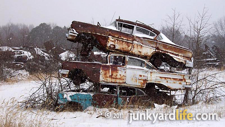 Old Car Salvage Yards Directory