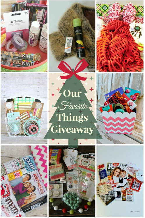 8 Bloggers+8 Packages= 1 WiNNER!