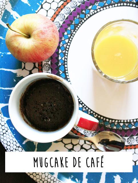 Mugcake de café Nescafé desayuno rápido 1 minuto