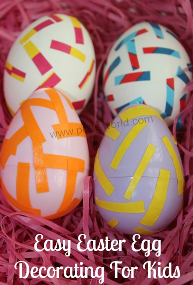 Easy Easter Egg Decorating For Kids