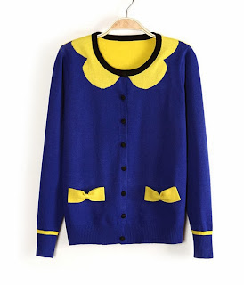 http://www.aupie.com/ladies-latest-sweet-color-matching-bowknot-knit-cardigan-sweater.html