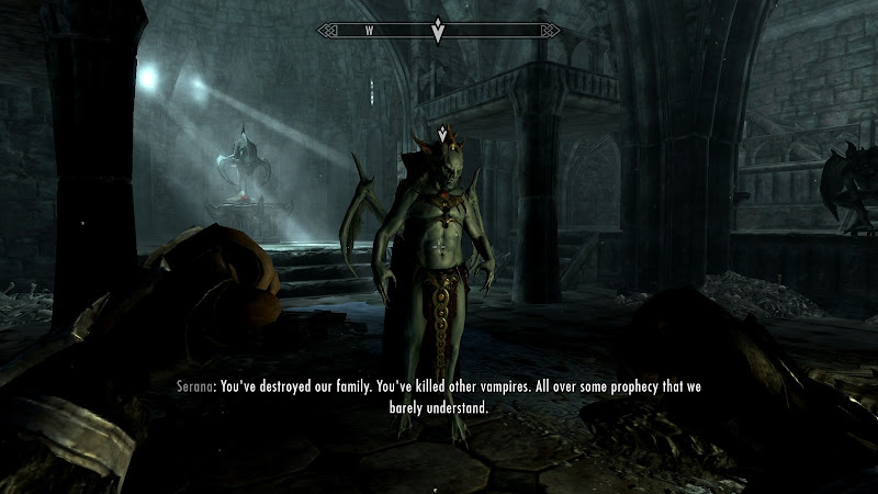 It's not that a complicated prophecy actually, Serana. title=