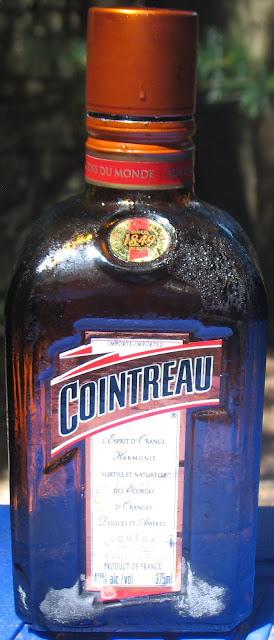 A frosty 375ml bottle of Cointreau