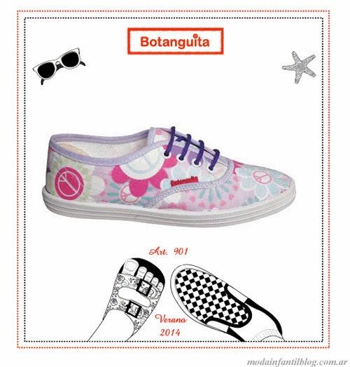 zapatillas nenas verano 2014 botanguita