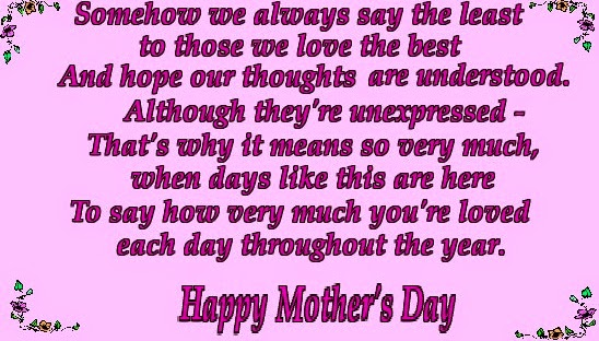 Facebook quotes for Mothers day