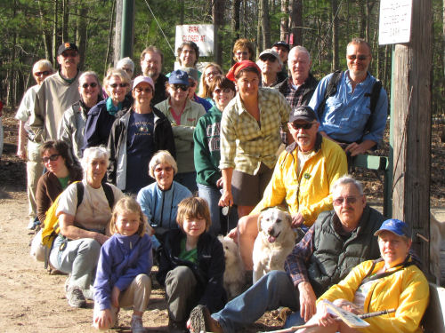 group picture of hikers