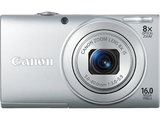 Enter to win a Canon PowerShot 400IS, ends 6/12