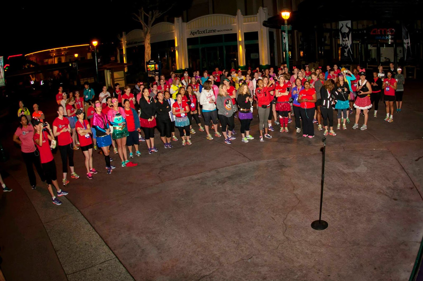 runDisney fun run at Disney Social Media Moms 2014