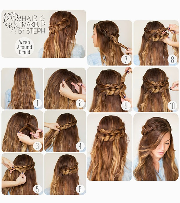 Estremamente Look Like A Model: Tutorial hairstyle: come fare acconciature con  LE29