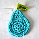 DIY easy crochet pears