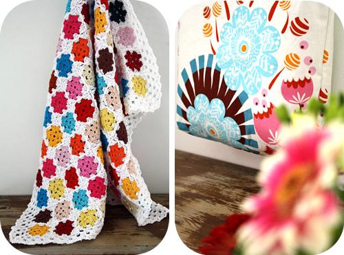 Crochet baby blanket Anna Maria Horner