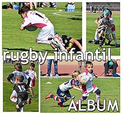 Rugby infantil en Aranjuez