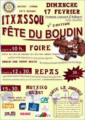 5 ème Fête du boudin à Itxassou