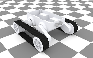 3D model of the Dagu chassis