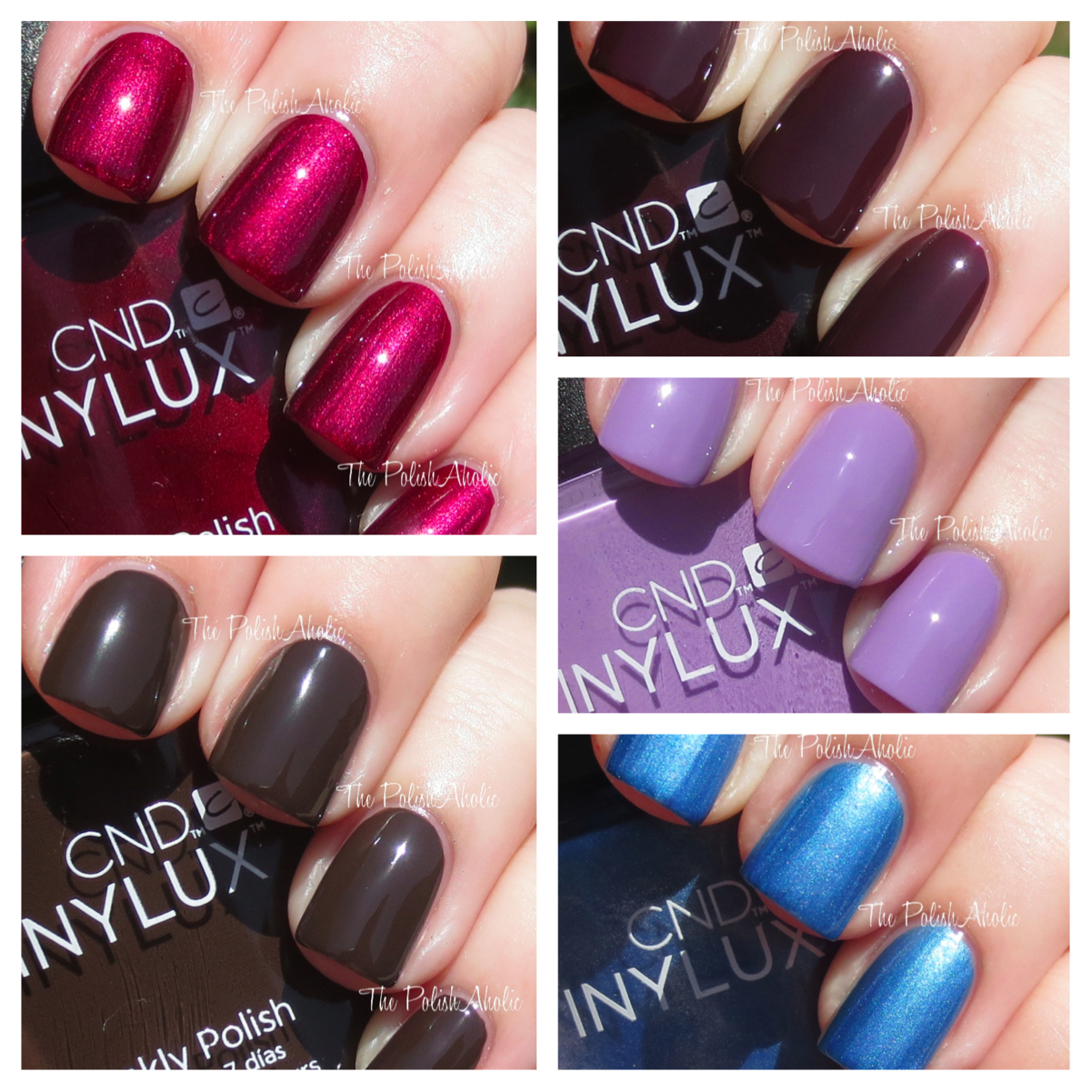 The PolishAholic: CND Vinylux Swatches & Review