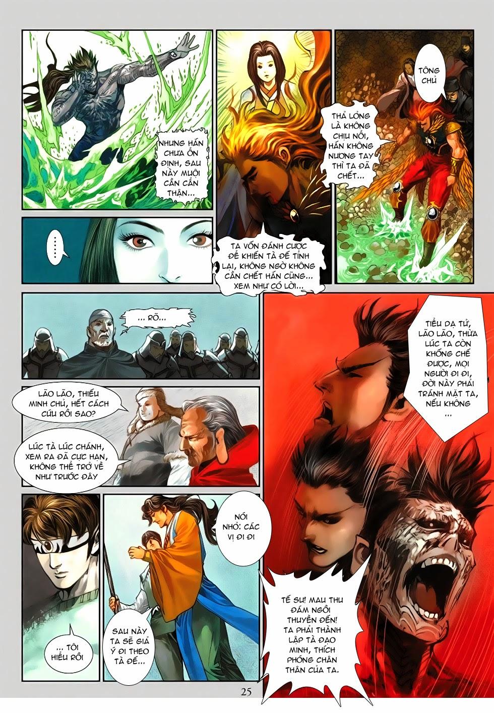Thần Binh Tiền Truyện 4 - Huyền Thiên Tà Đế chap 13 - Trang 25