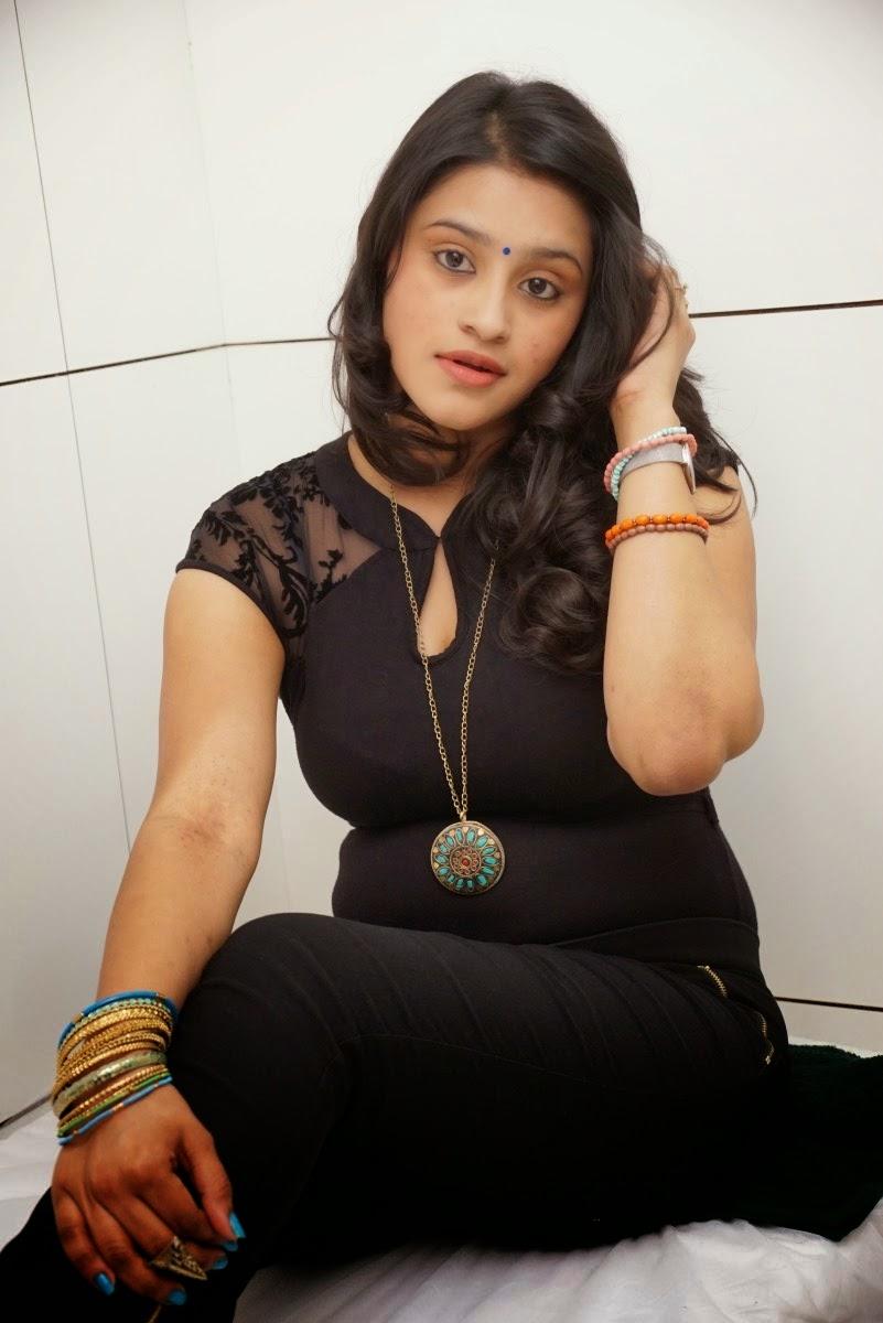 Model Priya In Black Dress Latest Glamorous Photos