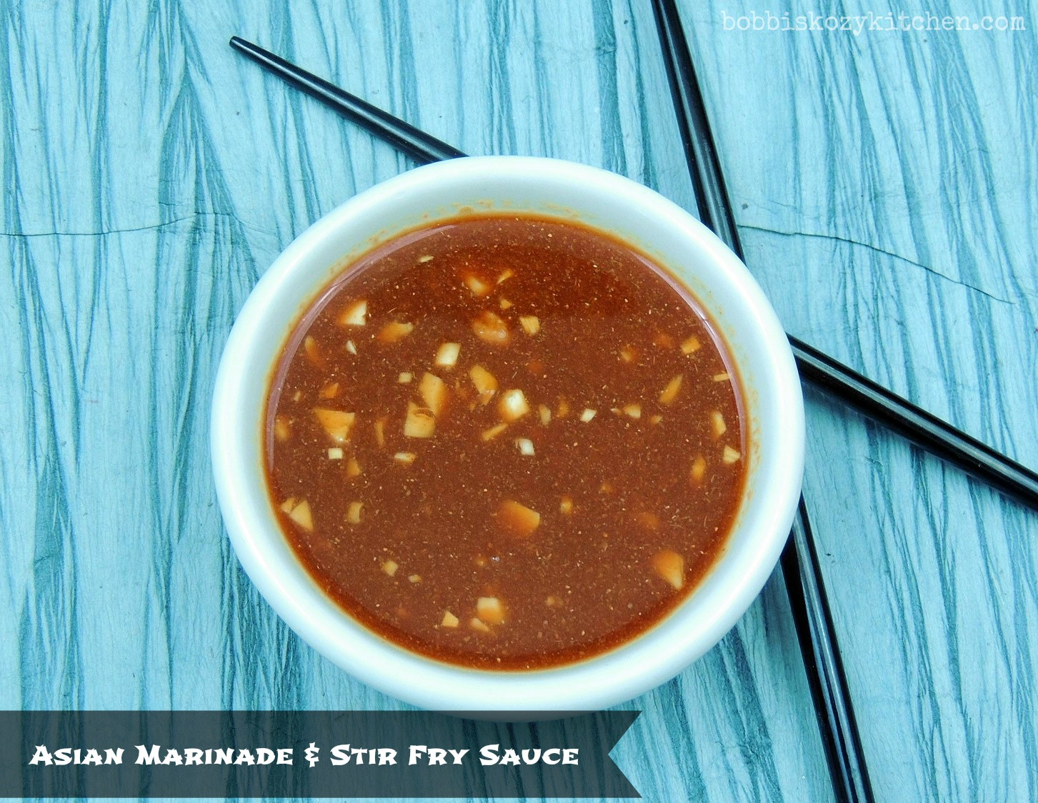 Quick and Easy Asian Marinade and Stir Fry Sauce | Bobbi\'s Kozy Kitchen