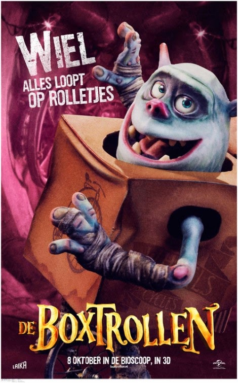 The Boxtrolls Character Posters : Teaser Trailer
