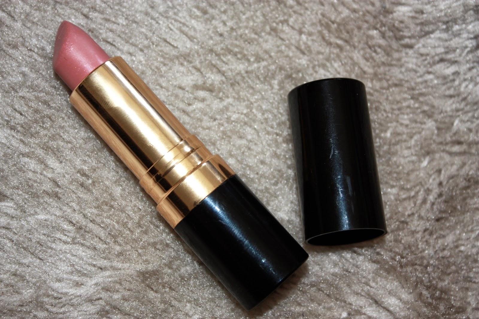 Revlon Pink Cognito, lipstick, peachy, peach, nude
