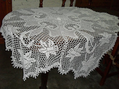 Vivicrochet visillos caminos de mesa carpetas - Manteles y caminos de mesa ...