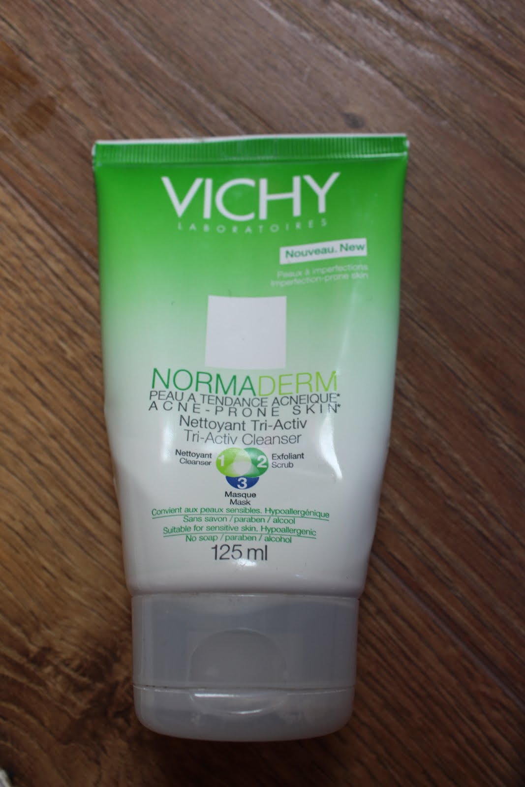 vichy normaderm nettoyant tri activ cleanser