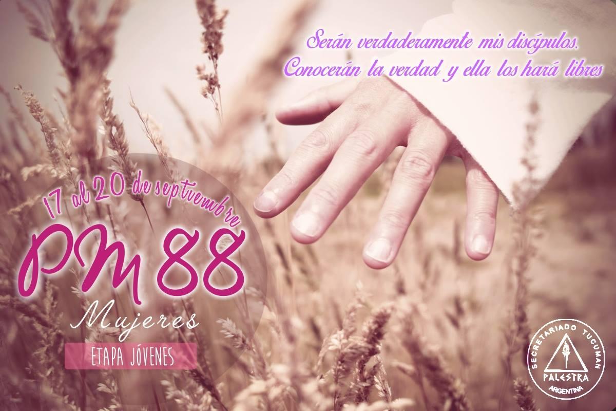 PM 88 Mujeres Etapa Jóvenes