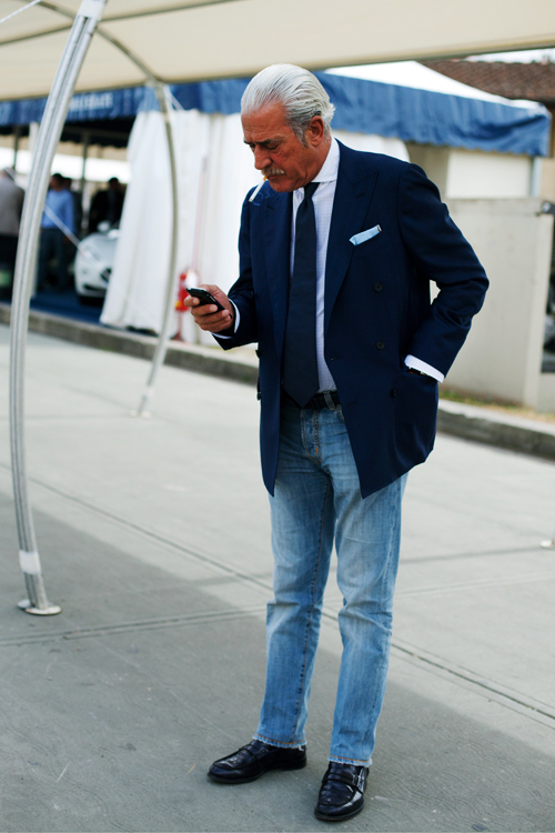 Grey Fox Denim Jeans And The Middle Aged And Older Man