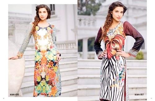 Digital Vogue Embroidered