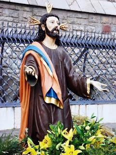 Jesús Orante del paso La Oración del Huerto de Villademor de la Vega. Procesión Rosario de Pasión. León. Foto G. Márquez.