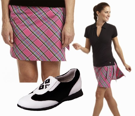 http://www.pinkgolftees.com/ladies-golf-apparel/ladies-golf-outfit-of-the-week.html