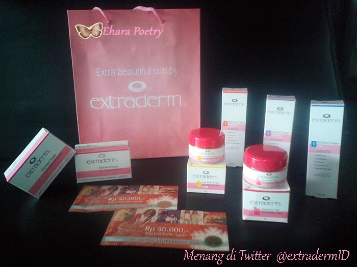 extraderm skin care plus MAP Voucher