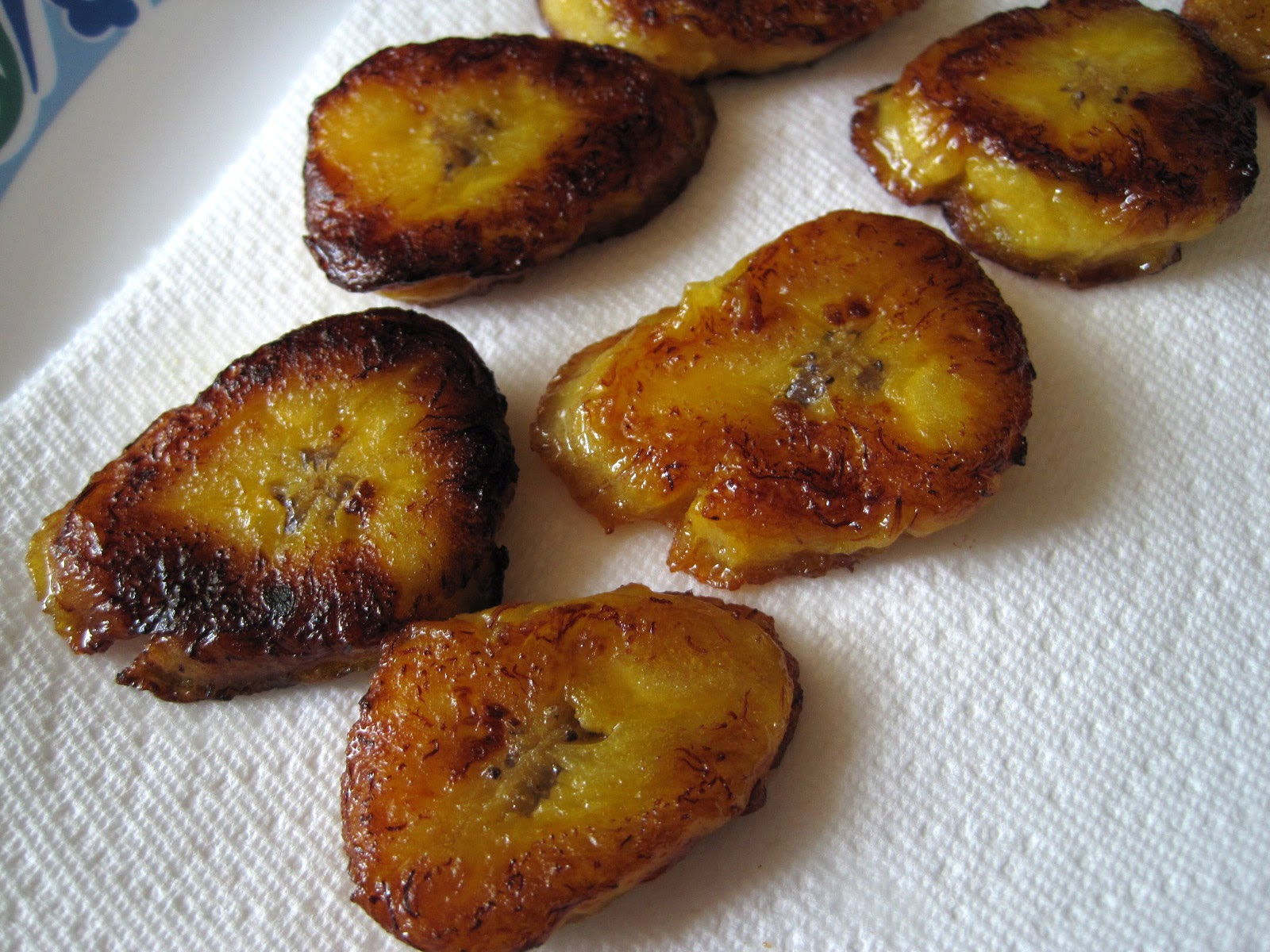 cooked plantains, fried plantain recipe