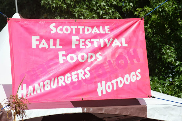 Scotdale Fall Festival Food banner
