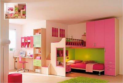 Decora el hogar cuartos color rosa para adolescentes for Pintar habitacion juvenil nina