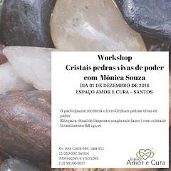 WORKSHOP CRISTAIS PEDRAS VIVAS DE PODER- EM SANTOS