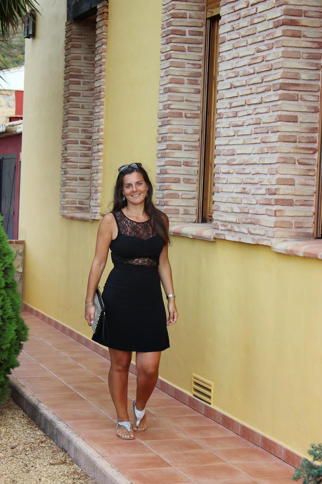 robe noire naf naf, pochette primark