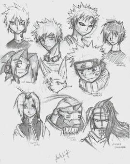 #1 Naruto Manga Drawing