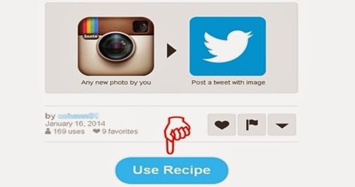 Kirim otomatis foto instagram ke twitter