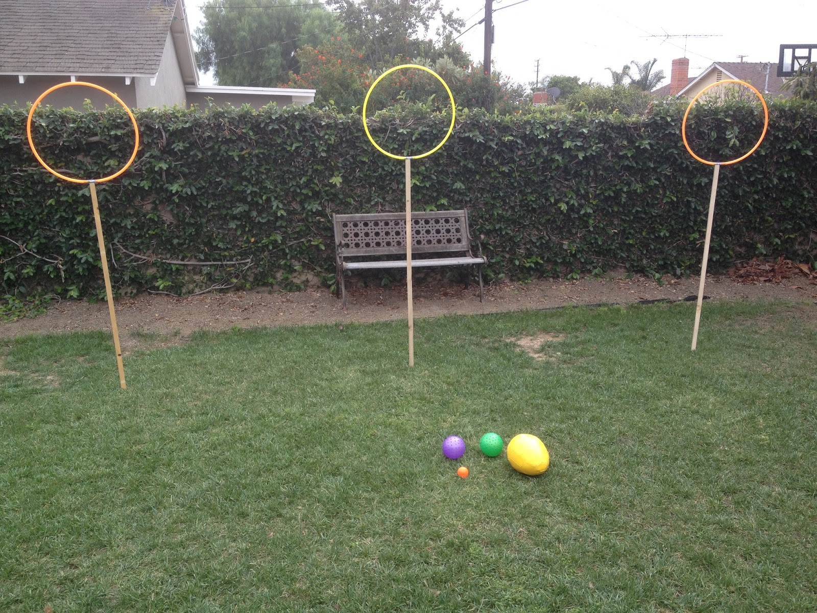 Harry Potter Birthday Party Ideas : Quidditch Pitch