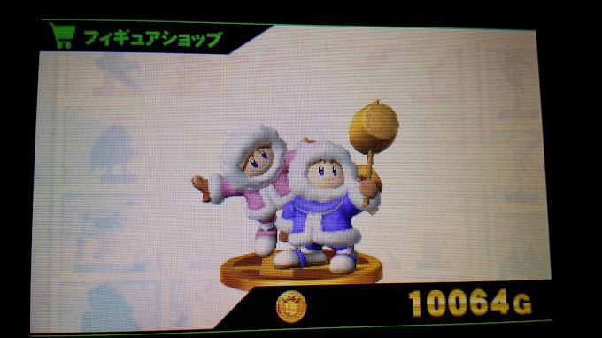 Ice Climbers in Super Smash Bros. Wii U and 3DS