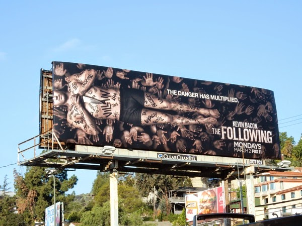 The Following season 3 billboard